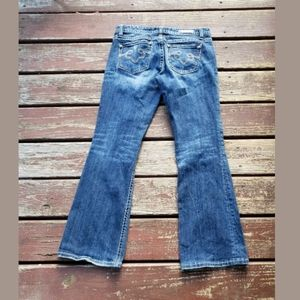 REROCK For EXPRESS Jeans Womens BootCut Stretch 6